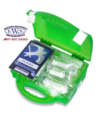 1-10 Person Premium HSE Compliant First Aid Workplace Kit, CE Marked, Long Exp