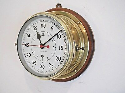 """Largest  """" Elliott """" Ships Clock On Ebay - In Perfect Working Order, Very Rare"""