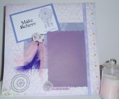 Handmade Scrapbook page - Love that Smile