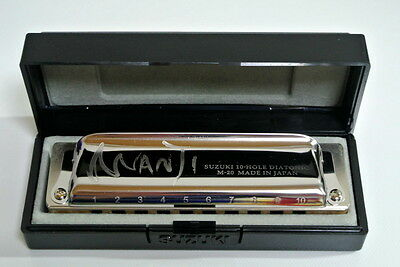 Suzuki Harmonica Manji M-20 Professional Diatonic 10 Hole Key of G(Japan Import)