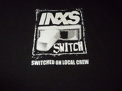 INXS Crew Tour Shirt ( Size XL ) NEW!!!