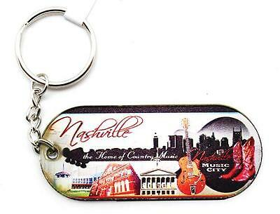 Nashville Lucite(72) Skyline Keyrings For Favors Thank You Gifts Family Reunions