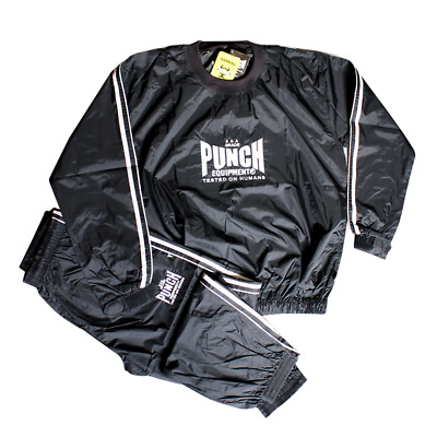 NEW PUNCH Sauna Sweat Suit - Heavy Duty Boxing Muaythai MMA UFC Weight Cutting