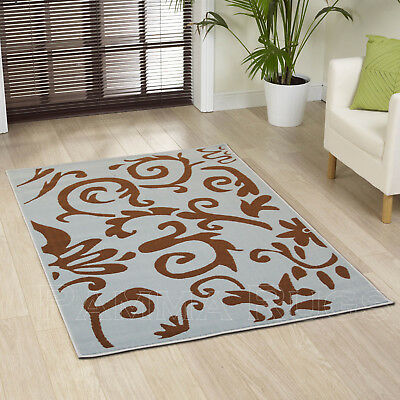 Best Quality Rug New Retro Style Alpha Blue Brown Large Medium Small Rug On Sale