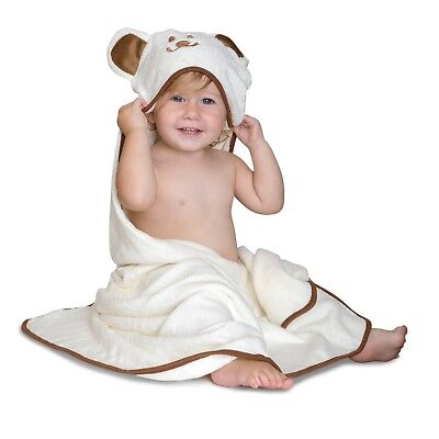 Luxury Hooded Bamboo Baby Towel | Super Soft & Super Absorbent | Extra Large
