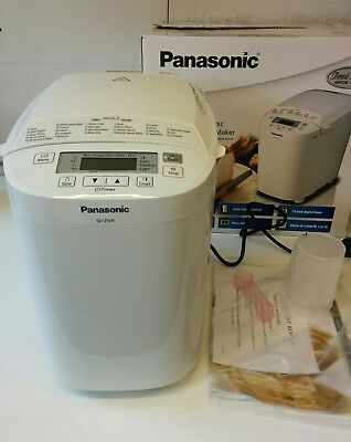 panasonic bread maker sd 2500 manual