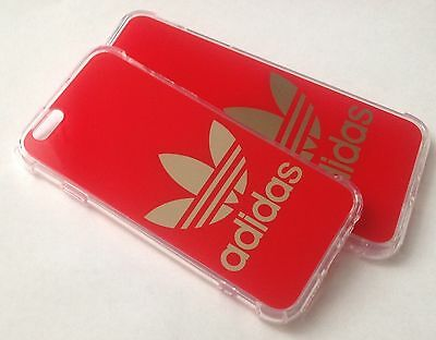 Red Hard Plastic Adidas  Logo Phone Cases for iPhone 6/6S