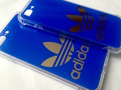 Blue Hard Plastic Adidas  Logo Phone Cases for iPhone 6/6S