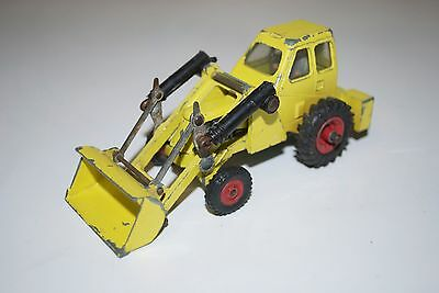 DINKY TOYS DIECAST MUIR HILL 2WL LOADER TRACTOR No 437 - 1/43 scale