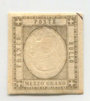 SICILY ITALY STATE old INVERTED CENTER ERROR VARIETY EARLY FAKE Forgery # 45253
