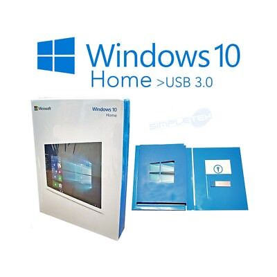 Licenza Windows 10 Home USB 3.0 nuova e originale