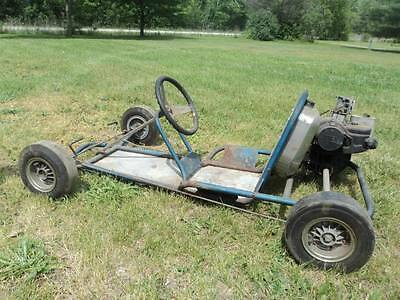 "BUILD  A GO-KART Vintage Plans ""FREE"" Mystery Gift Included"