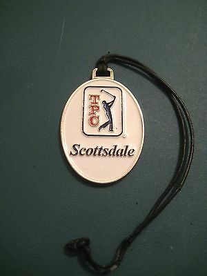 TPC SCOTTSDALE METAL BAGTAG with Lanyard,  SCOTTSDALE, ARIZONA