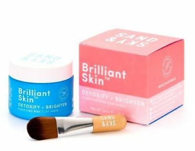 Sand And Sky Brilliant Skin Australian Pink Clay Face Mask