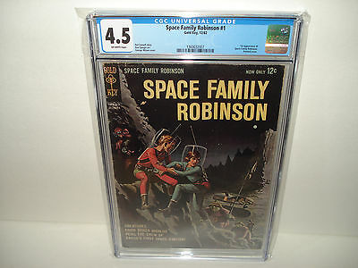 Space Family Robinson #1 (Dec 1962)  CGC 4.5 First App. of Space Family Robinson