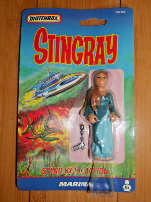 "Stingray Marina 3.75"" Action Figure Gerry Anderson Matchbox 1993   (872)"