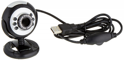 Fosmon 21001WEB 12.0 Megapixel 6 LED USB PC Webcam Camera with Night Vision For