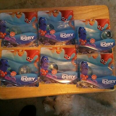 Finding Dory Gubbles  (6 Total) *free Shipping In Usa Only*