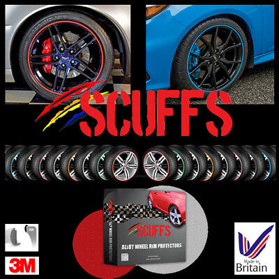 SCUFFS by Rimblades Car Tuning Alloy Wheel Rim Protectors 1 STRIP ONLY