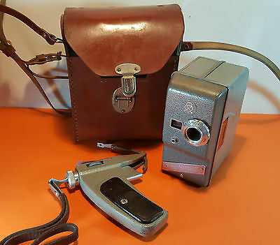 Rare Early Sport-2 Soviet (Ambassador) Electric Movie camera 2x8 LOMO #08870