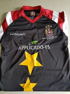 Wigan rugby league shirt