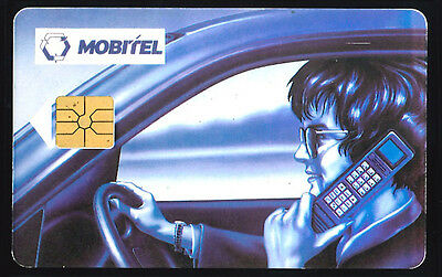 Mobitel  - phone card used -