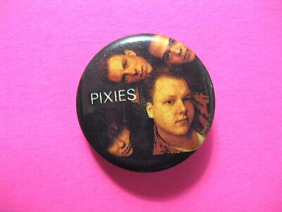 Pixies Official Vintage Button Badge Pin Us Made