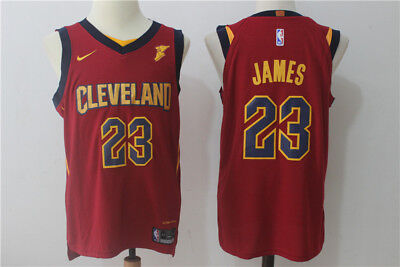 Nba Lebron James Cleveland Cavaliers New Jersey #23 Swingman Jersey Red