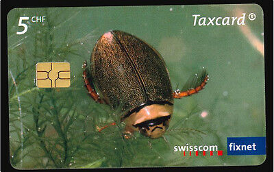 Suisse Taxcard   -  phone card used -