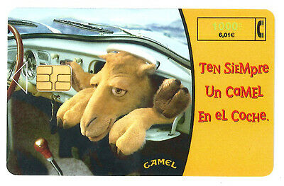 Espagne  - phone cards used - camel