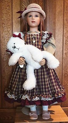 "Virginia Turner Vinyl Doll ""Abagail"""
