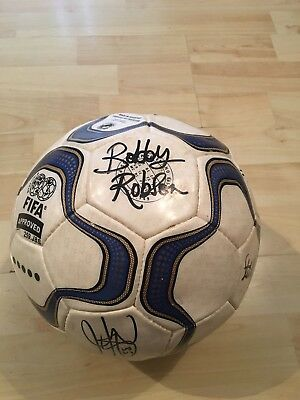 Newcastle United official Signed Match Ball 2001 v Chelsea,