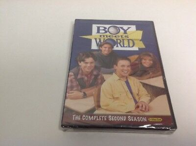 Boy Meets World - The Complete Second Season (DVD, 2010, 3-Disc Set)