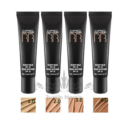 MAC Prep + Prime BB BEAUTY BALM (Various Shades) SPF 35 Foundation 40ML *NEW**