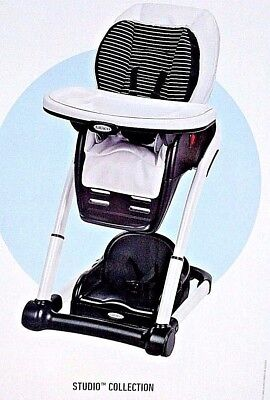 Graco Blossom 4-in-1 High Chair, Studio