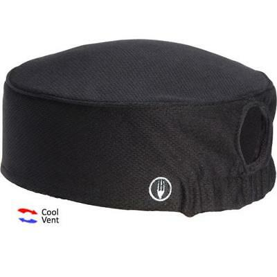 Chef Works - DFAOW-BLK - Women's Total Vent Black Beanie