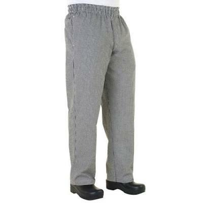 Chef Works Zip-Fly Baggy Chef Pants - Checked - All Sizes