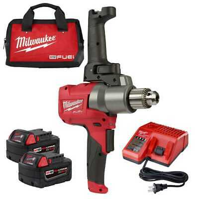 Milwaukee 2810-22 M18 FUEL Mud Mixer with 180 Deg. Handle Kit New