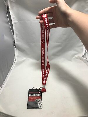 General Tire Promotional Auto Show SEMA Lanyard With Grabber UHP Badge