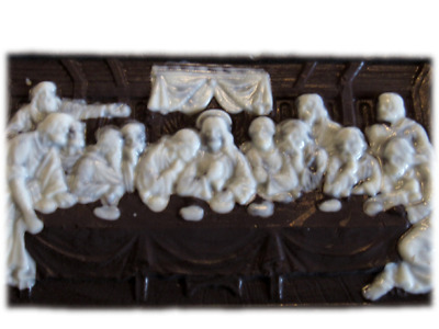 "Last Supper / Christmas Chocolate Bar Large size 8""x 10"""