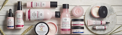 The Body Shop Vitamin E Range Various Items Brand New