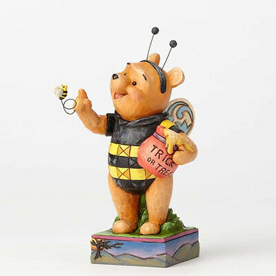 "Disney Traditions Winnie the Pooh as Honey Bee  Figurine 7"" High Jim Shore 2017"