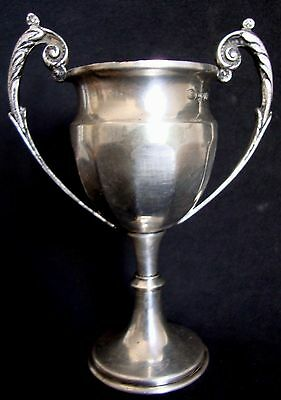 Trophy  Loving Cup silverplate hallmark  Vintage  FREE SHIPPING WORLDWIDE &