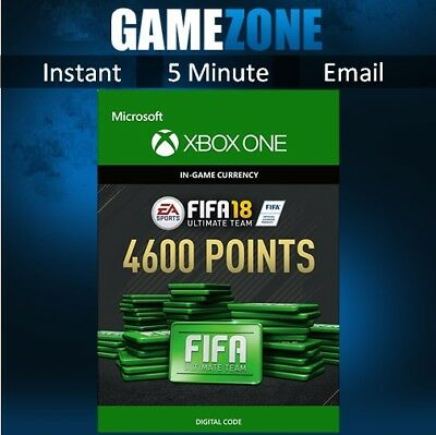 FIFA 18 Ultimate Team - 4600 FIFA Points - Xbox One - FUT Points Code - 2018