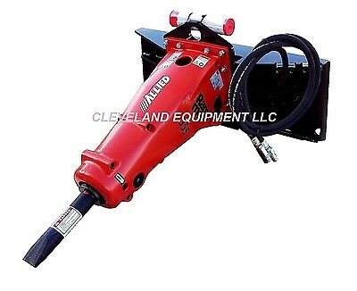 ALLIED 555 HYDRAULIC CONCRETE BREAKER ATTACHMENT Bobcat Skid-Steer Loader Hammer