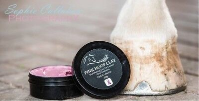 250g Pink Hoof Clay, ideal for hoofs, soles, frogs, hoof walls & white line area