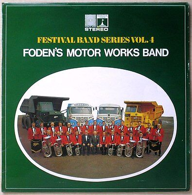 Foden's Motor Works Band Festival Band Series LP Stereo Saga Records