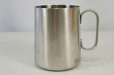 Old Hall England 18/8 Stainless Steel Stein or Mug 5.25`,  EXC!