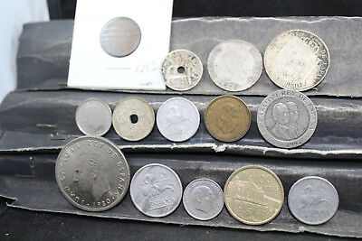 SPAIN  14 assorted coins   lot H 263