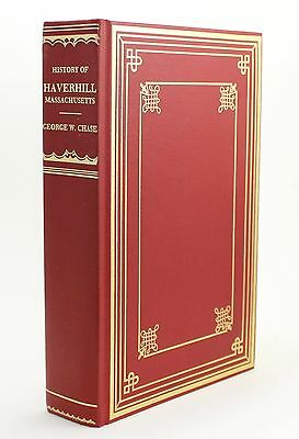 History of Haverhill Massachusetts George Wingate Chase Vtg 1983 Genealogy Book